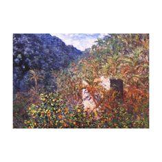 Claude Monet: Sasso Valley Gallery Wrap Canvas