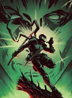 Snake Eyes Gi Joe, Comic Art, Comic Books, Cartoon Clip, Storm Shadow, The Valiant, Shoe Designs, Saturday Morning Cartoons, Deathstroke