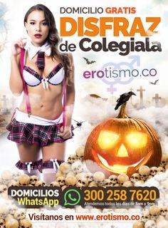 ► 👻 DISFRAZ DE COLEGIALA 👻❤ 15% de Ahorro!! Domicilio GRATIS! WhatsApp 300 258 7620  → Más productos eróticos en www.erotismo.co  👻❤❤👻