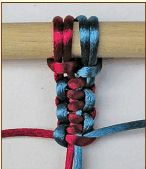 Basic macrame knots  #DIY #craft #macrame #knotting #jewelry #bracelet