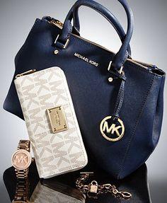 62a177e89d08 MICHAEL Michael Kors Sutton Deluxe Gift Set   Reviews - Handbags    Accessories - Macy s
