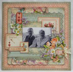 58th Wedding Anniversary - CHA Challenge - G45 Sweet Sentiments