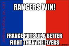Rangers win - 11.29.14