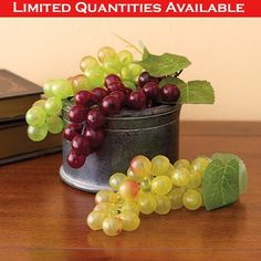 GRAPE CLUSTERS - 3 PIECE SET