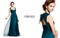 peacock blue jersey bridesmaid dresses - Google Search