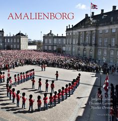 Amalienborg Palace in Copenhagen, where Queen Margrethe II and her family live.
