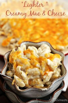 Looking for Fast & Easy Main Dish Recipes, Pasta Recipes, Quick Recipes! Recipechart has over free recipes for you to browse. Find more recipes like Lighter Creamy Mac & Cheese. Creamy Mac And Cheese, Mac And Cheese Homemade, Mac Cheese, Homemade Food, Cheese Recipes, Pasta Recipes, Dinner Recipes, Cooking Recipes, Dinner Ideas