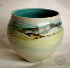 John Struthers Stoneware Ceramics - contemporary studio potter, porcelain pottery and ceramic art.journey landscape series