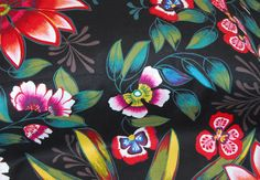 SALE 25% OFF Alamandas Fabric by Alexander Henry  - 100 Percent High Quality Cotton - $2.24 USD