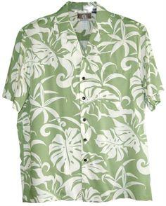 Friday Aloha Shirts Hawaiian Shirts - Mens Hawaiian Shirts - Aloha Shirt - Hawaiian Clothing - 100% Rayon Green Large Kalaheo http://www.amazon.com/dp/B00BXDDKK0/ref=cm_sw_r_pi_dp_lUA5tb03XGR7T