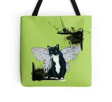 http://www.redbubble.com/people/damnmurphy/works/14794177-flying-cat?p=tote-bag  Also on t-shirt, mug, travel mug, throw pillow, etc.