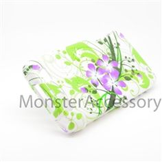 Click Image to Browse: $5.95 Green Lily Hard Case Snap On Cover For Motorola Atrix 3 HD Dinara MB886
