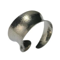 Over 20% OFF! Unique Silver-Toned Anticlastic Bangle Featured by #HandmadeAtAmazon #Bracelets http://www.amazon.com/dp/B00HRD5UE4