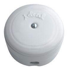 Caja de empalmes de porcelana antigua #retro #interruptores #porcelana #mecanismos #antiguo #decoracion #rustica #iluminacion #vintage