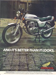 Manufacturer Honda Detail ndash Original Advert middot Super Dream CB250N Size…