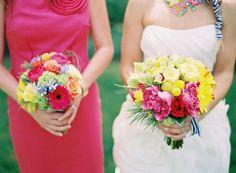 Ramo de novia multicolor :: Colorful wedding bouquet