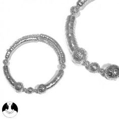 SG Paris Choker Silver Argente Necklace Choker Metal Winter Women Ethno Glam Fashion Jewelry / Hair Accessories Z Others $8.99