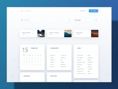 4 Layout Trends on Dribbble