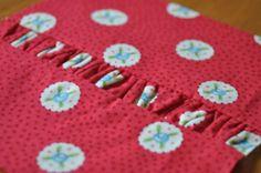 Block 6: Gathered strip – Textured quilt sampler tutorial | Sewn Up by TeresaDownUnder