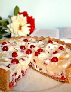 Tart Recipes, Fruit Recipes, Dessert Recipes, Cooking Recipes, Summer Desserts, Sweet Desserts, Cheescake Recipe, Cheesecake, Hungarian Desserts