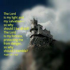 Psalm 27:1 NLT
