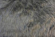 Heather Gray Faux Fur Fabric Fashion Faux Fur Fabric