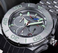 Aragon Silverjet 9100 Automatic // With a brushed stainless steel finish, the Silverjet? 9100 Automatic is reminiscent of early jet planes. Powered by an incredibly precise Japanese Miyo Jet Plane, Black Girl Fashion, Brushed Stainless Steel, Stainless Steel Bracelet, Rolex Watches, Jewels, Planes, Accessories, Japanese