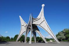 Alain Simard: Jardin de sculptures au Parc Jean-Drapeau, Montréal, Qc.