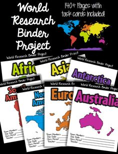 Check out this world research binder project that encourages students to work as a team to build upon their knowledge of research, reading literature, and writing skills.  The product is 140+ pages and can last an entire semester!!! $