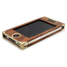 Rosewood + Brass iPhone Case / EXOvault