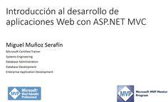 Introduccion al desarrollo de aplicaciones Web con ASP.NET MVC 1a Sesión