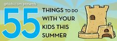 Local Grand Rapids list of 55 fun things to do around town with your kids this summer