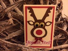 carte noel renne avec enveloppe : Cartes par la-petite-seve