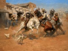 Leaving Old Mexico by Andy Thomas - CV Art and Frame