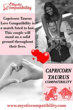 Capricorn Taurus Love Compatibility is a match fated to last. This couple will stand on a solid ground throughout their lives. #Capricorn #Taurus _Love_Compatibility #Zodiac_Signs