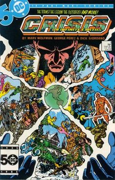 Crisis on Infinite Earths by DC Comics.