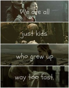 """""""We're all just kids who grew up way too fast. The good die young, but the great will always last. We're growing older, but we're all soldiers tonight."""" Living Louder by The Cab"""