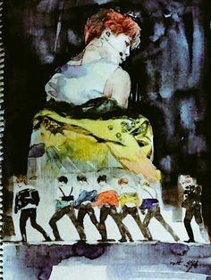 BTS 'Run' Fanart