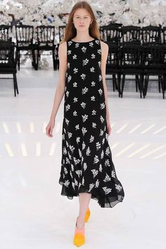 Christian Dior | Fall 2014 Couture Collection | Style.com - look so simple but so classy and it's easy for different body shapes to carry!