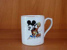 Arabia Mikki ja Minni Finland, Retro Vintage, Porcelain, Container, Ceramics, Tableware, Disney, Collections, Design
