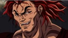 Yujiro Hanma from Baki the Grappler