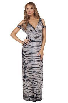 Empire Waist V-Neck Peak-a-boo Shoulder Tie Dye Summer Bohemian Maxi Long Dress Hot from Hollywood http://www.amazon.com/dp/B00KTQ7K3A/ref=cm_sw_r_pi_dp_Er1Ztb1W08VNAXMT