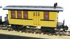 Western Train: A LEGO® creation by Matija Grguric : MOCpages.com