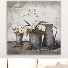 Add some calming and soothing tones with our Blooming Whites Giclee Canvas Art Print. The special giclee printing will make this a unique stand out. Canvas Art Prints, Wall Prints, Canvas Wall Art, Wooden Flowers, Winter Scenery, Wildlife Art, Botanical Prints, Wall Art Decor, Giclee Print