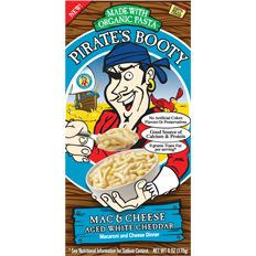 B&G Foods has introduced Pirate's Booty Macaroni & Cheese.