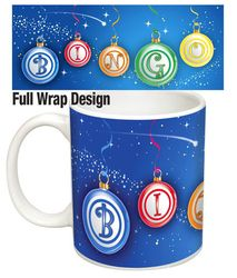 Give Your Bingo Lover the Gift That Keeps on Giving with a Christmas Bingo Balls Mug that's sure to Please any Bingo Queen in Town. Christmas Bingo, Xmas, Balls, Cricut, King, Queen, Tableware, Projects, Crafts