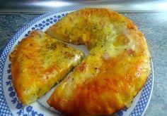 PIZZA CASERA SIN HORNO