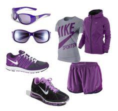 "Nike-purple Perfect for the IIdentity running ""Team"""