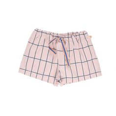 "Tinycottons - Shorts ""Big grid"""