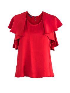 Rönner Design   Bluse CARMENZA in Rot
